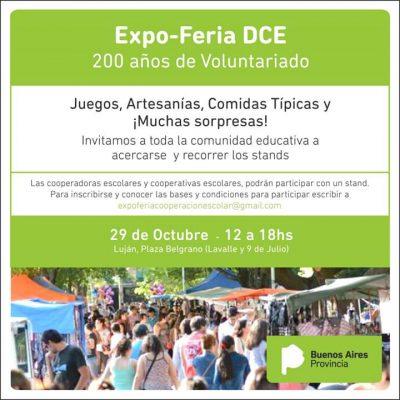 Expo-Feria DCE, 200 años de Voluntariado