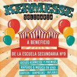 Kermesse Solidaria a beneficio de la Escuela Secundaria 9