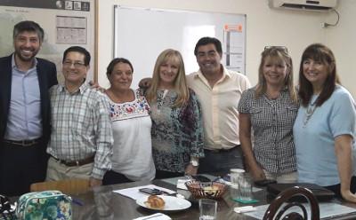 Nos visitó el Director de Consejos Escolares